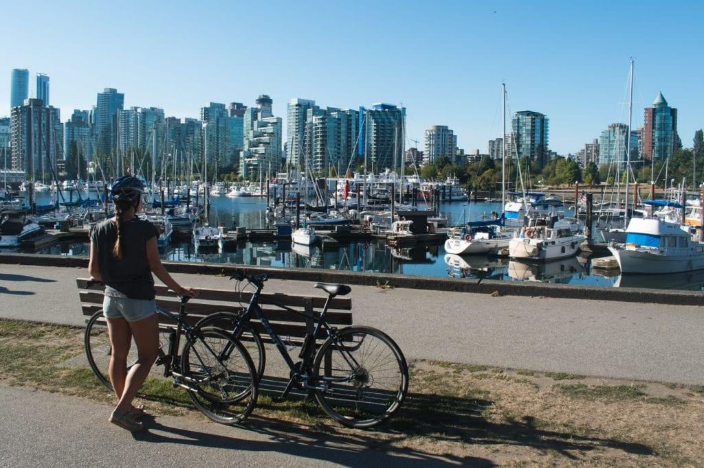 Wat te doen in Vancouver fietsen