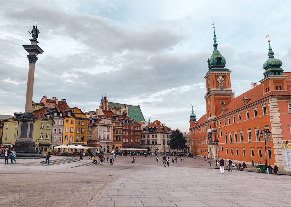 Wat te doen in Warschau, Plac Zamkowy