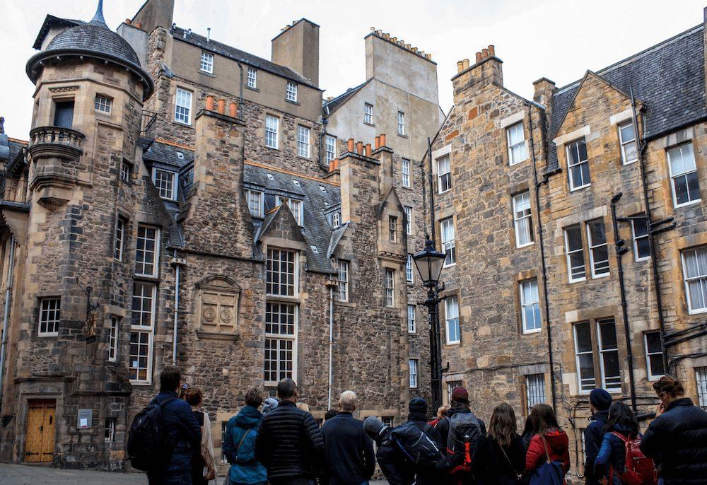 Wat te doen in edinburgh stadstour