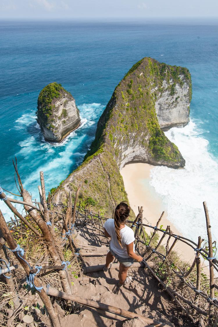 Wat te doen op Nusa Penida Kelingking Beach bezienswaardigheden