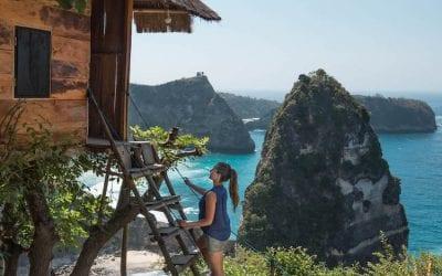 Wat te doen op Nusa Penida Rumah Pohon boomhut