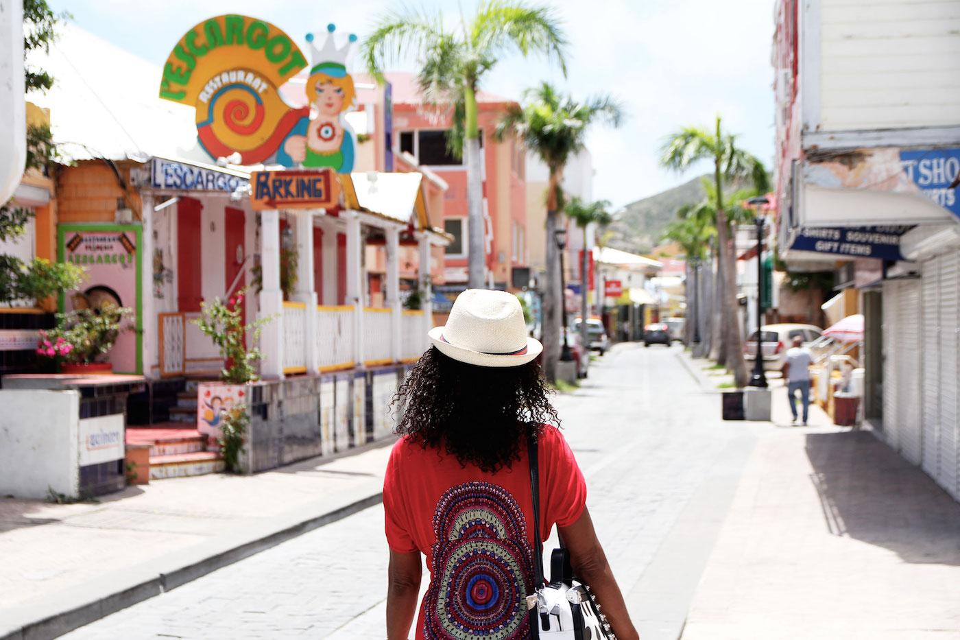 Wat te doen op Sint-Maarten Philipsburg Front Street