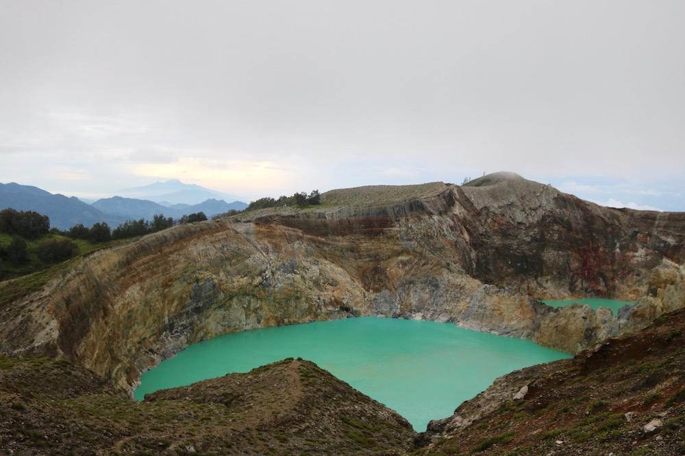 Wat te doen op flores kratermeer