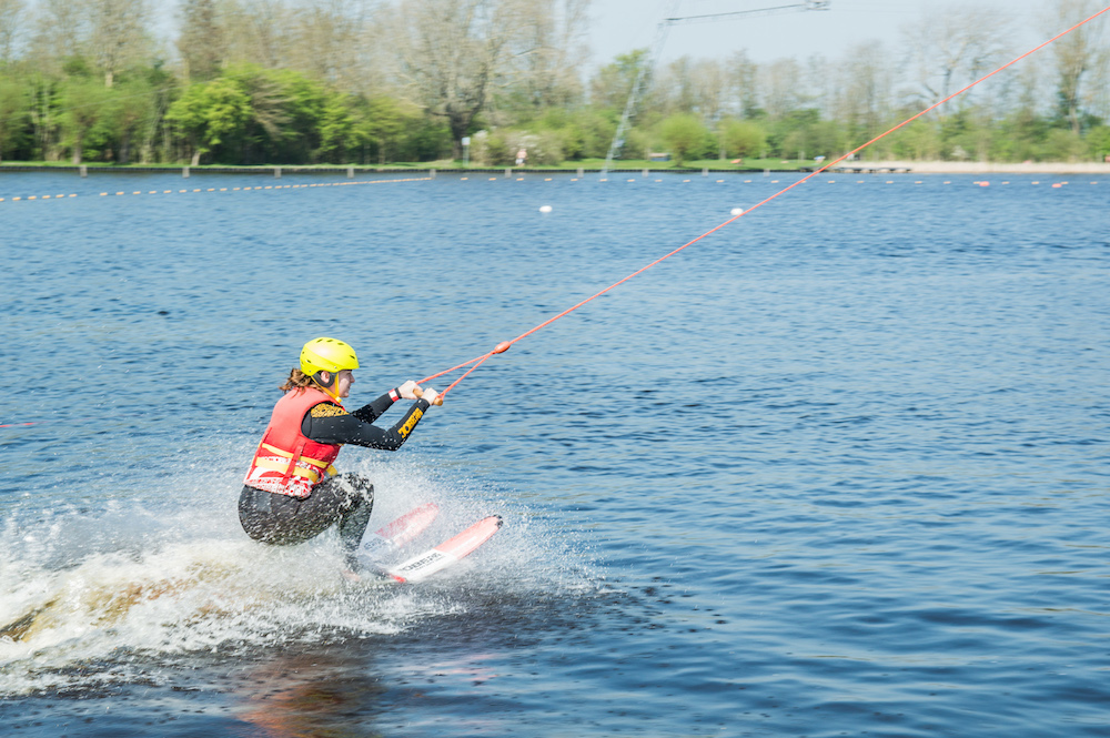 Waterskien in friesland