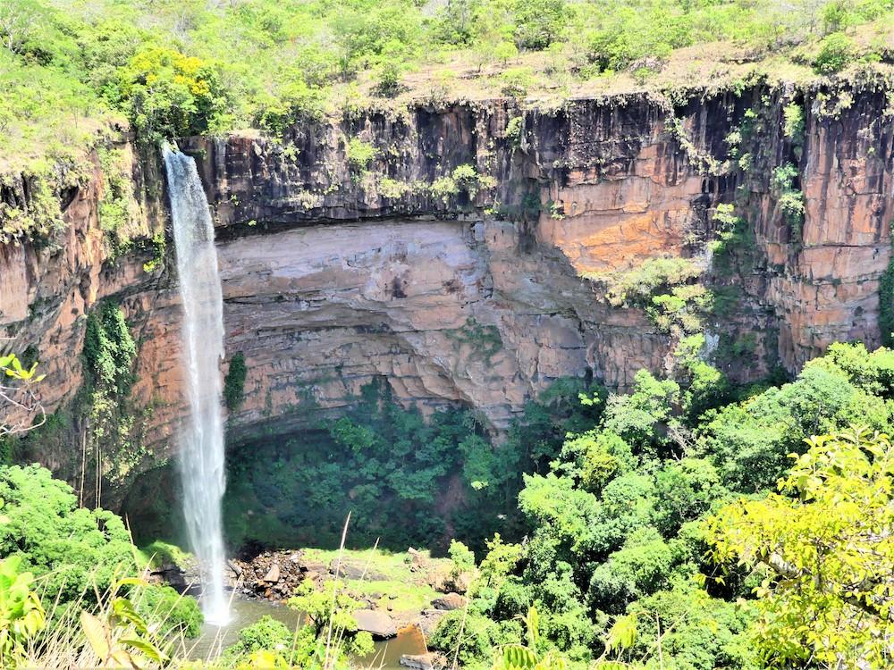 Waterval in de pantanal brazilie