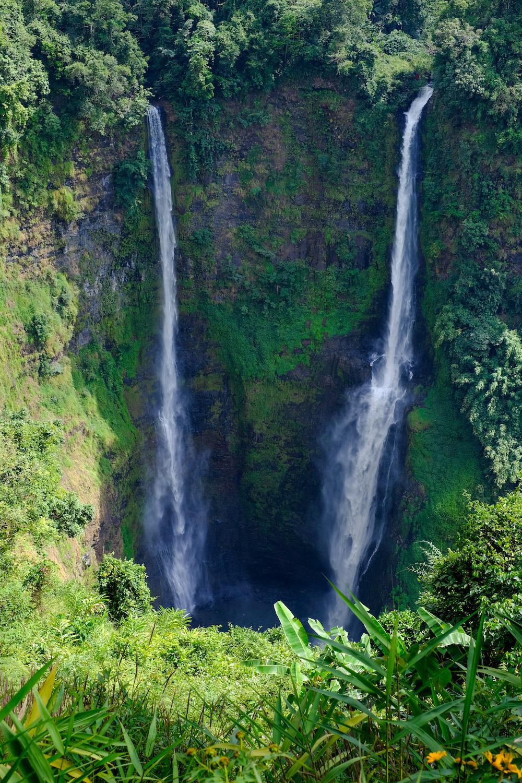 Watervallen zuid laos bolaven