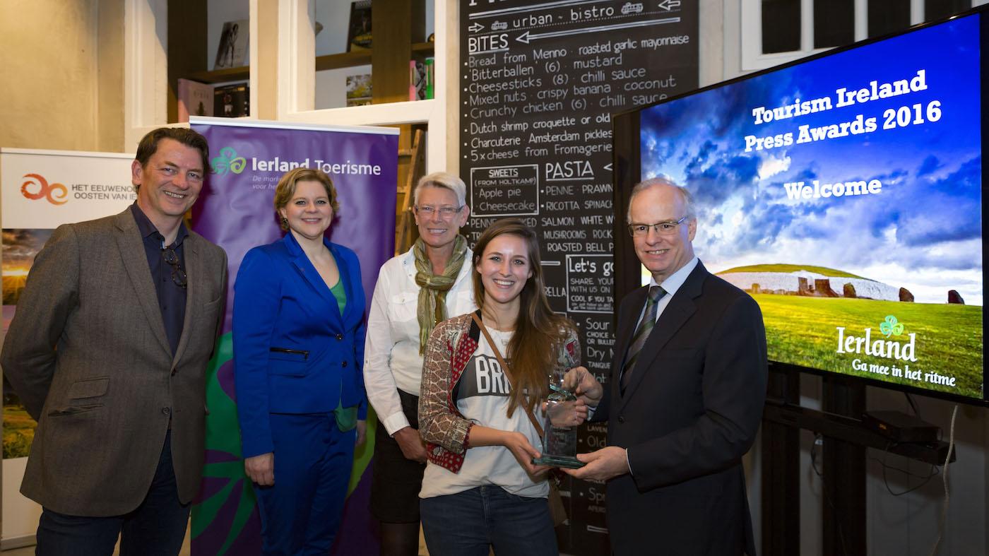 We Are Travellers award Ireland Press Awards