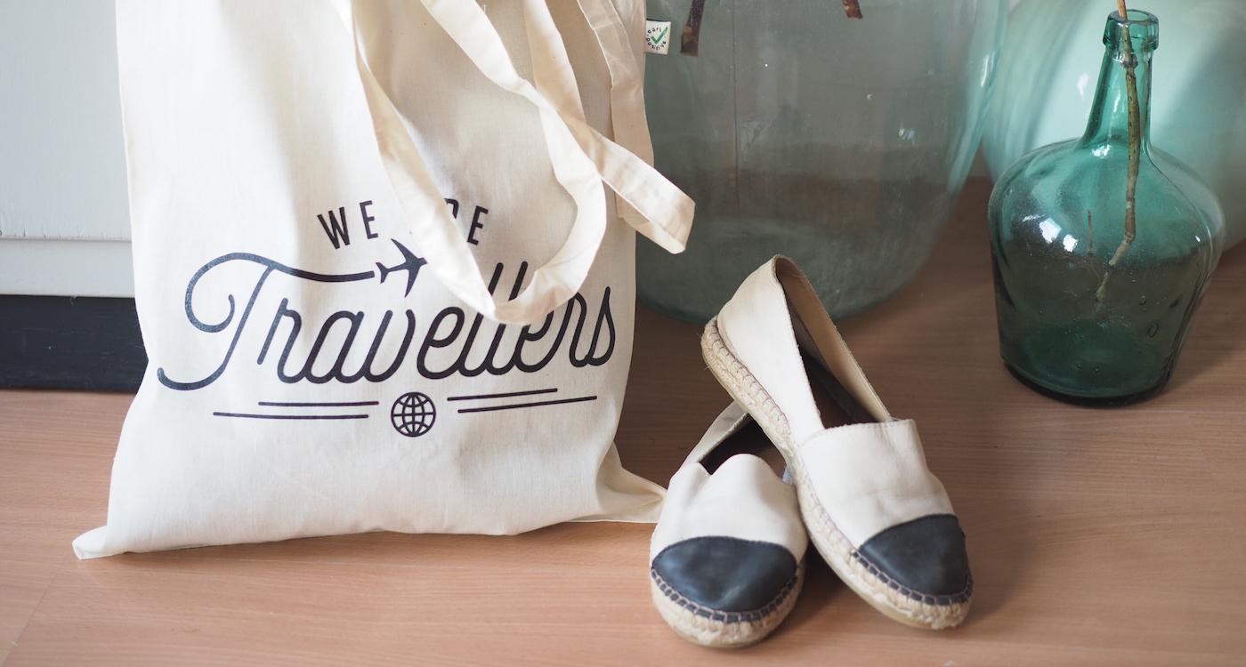 We are travellers tassen