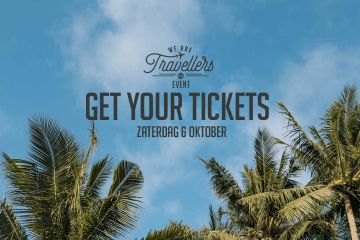 WeAreTravellers event op 6 oktober tickets