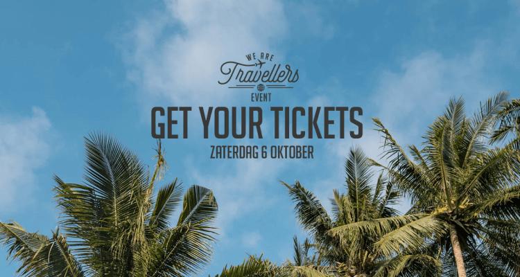 WeAreTravellers event op 6 oktober tickets