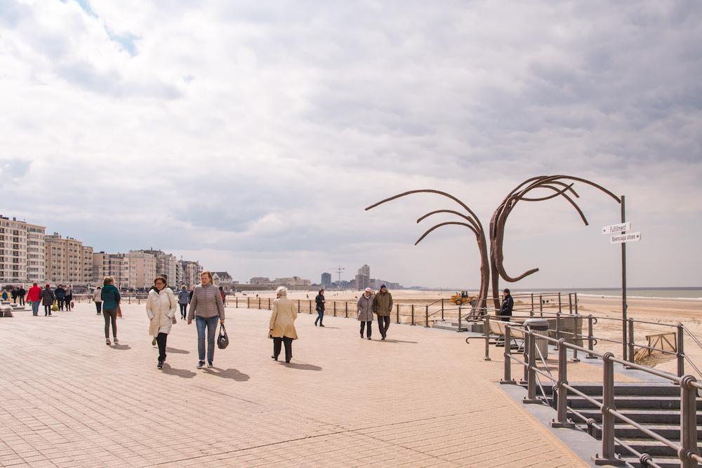 Weekend Oostende kust uitwaaien