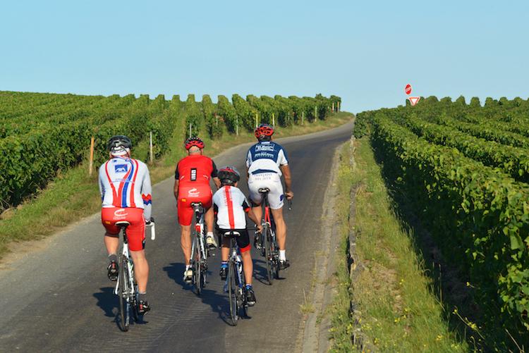 Weekend champagnestreek fietsen