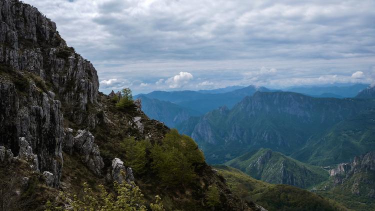 Weekend weg milaan hike berg Lecco