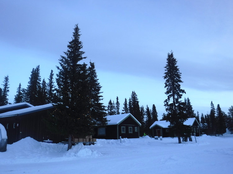 Weer in Lapland