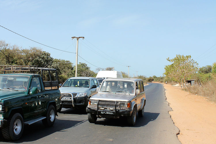 Wegen Gambia rondreis