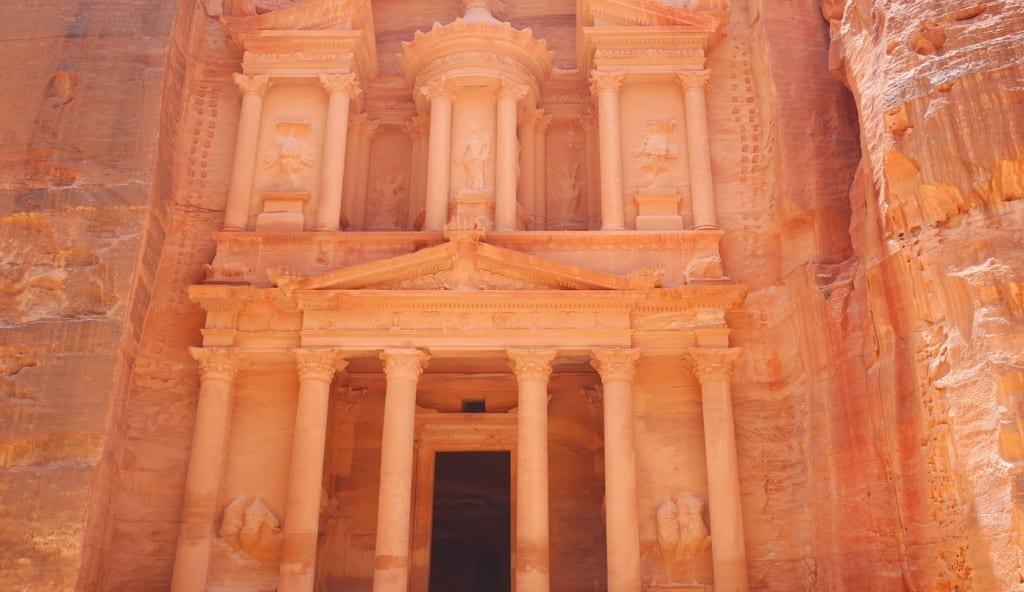 7 Wereldwonderen Petra Jordanie