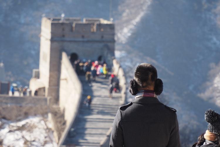 Wereldwonder chinese muur