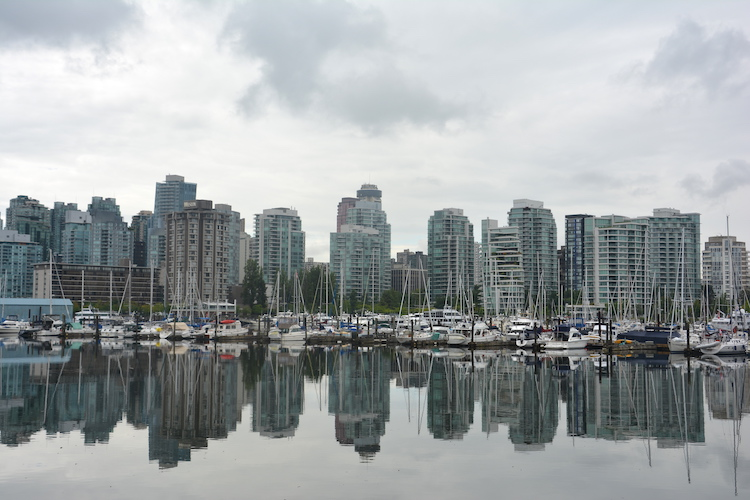 West Canada rondreis Vancouver Sea Wall