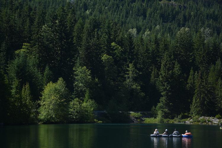 West Canada rondreis kayak Whistler