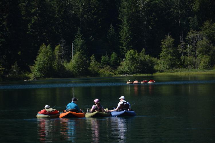 West Canada rondreis kayakken Whistler