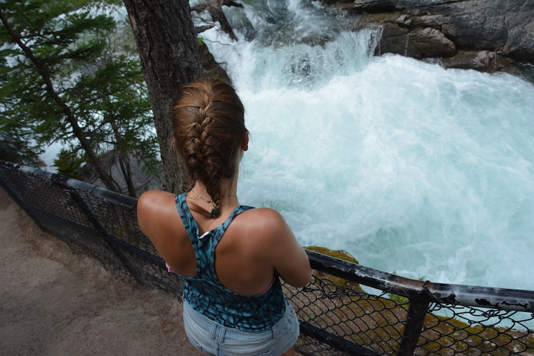West Canada rondreis rivier jasper national park