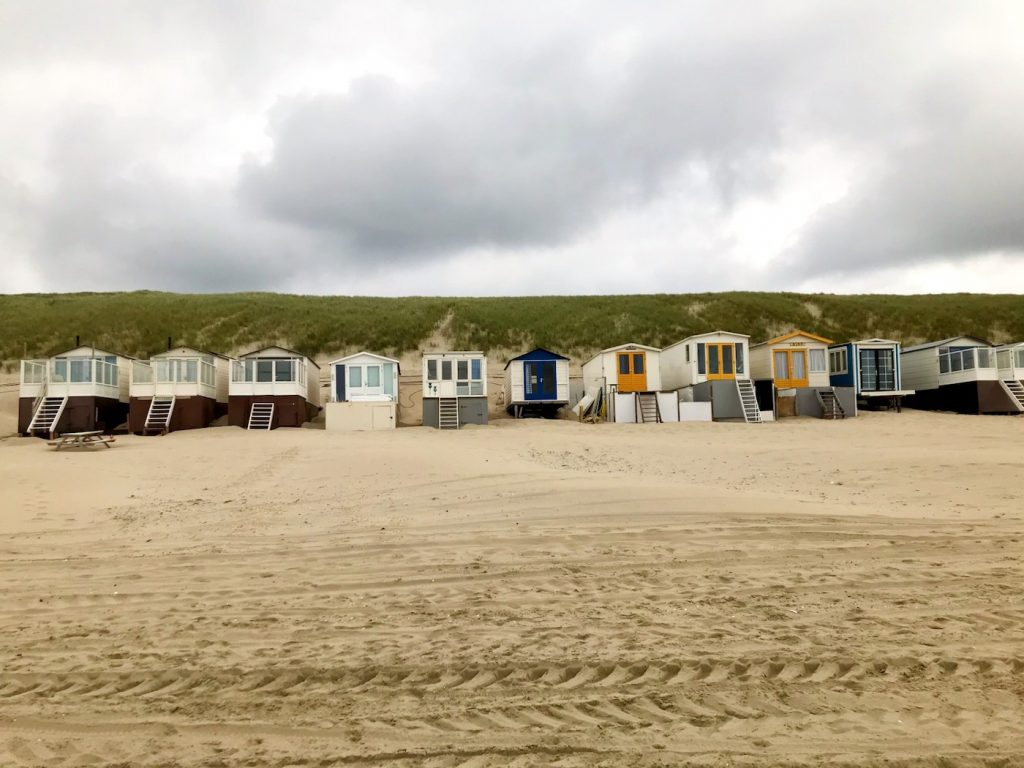 Wijk aan Zee strandhuisjes