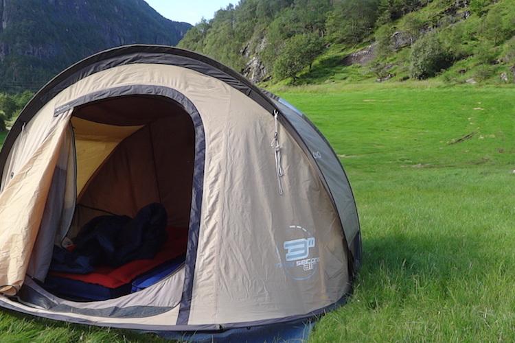Wild camping europe