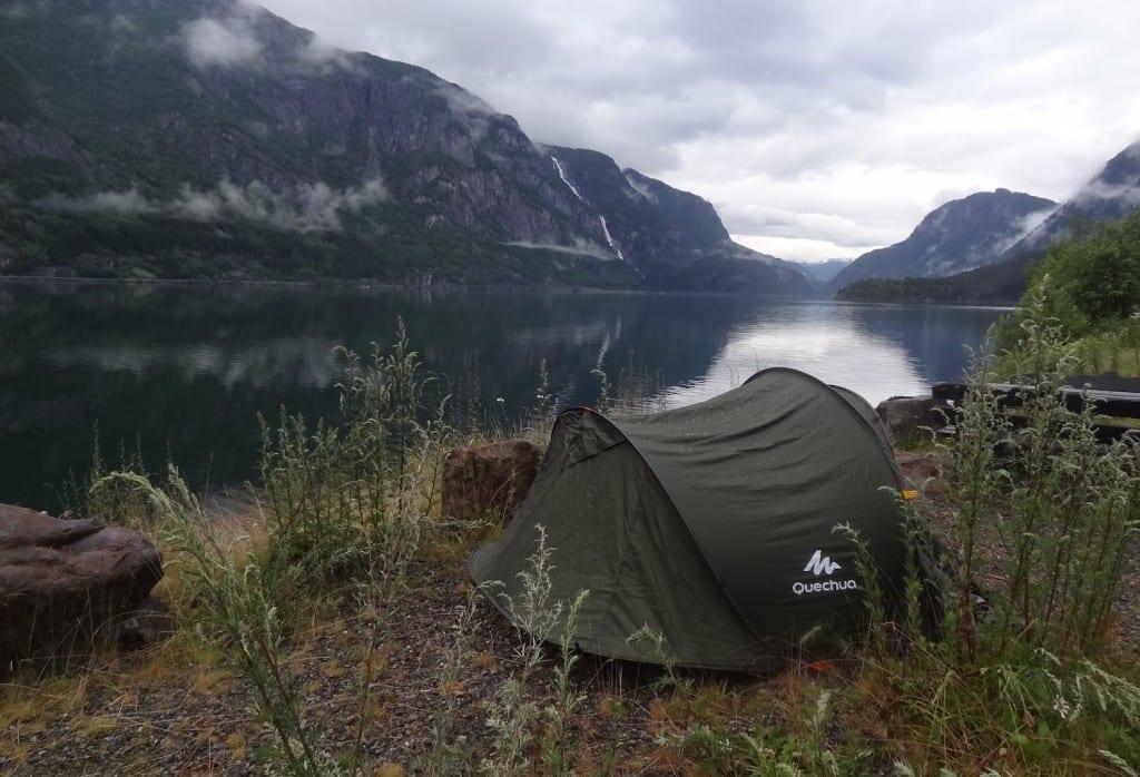 Wild kamperen Noorwegen