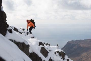 Winter in Schotland