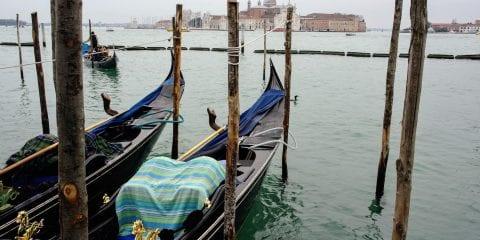 Winter in Venetië zonder toeristen