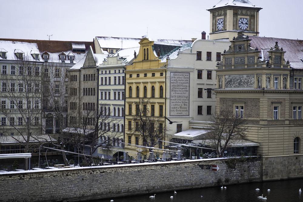 Winter praag hotspots brug