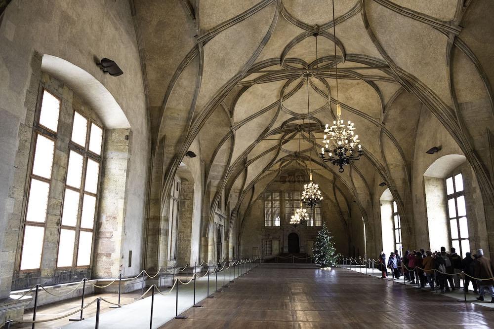 Winter praag kasteel must visit