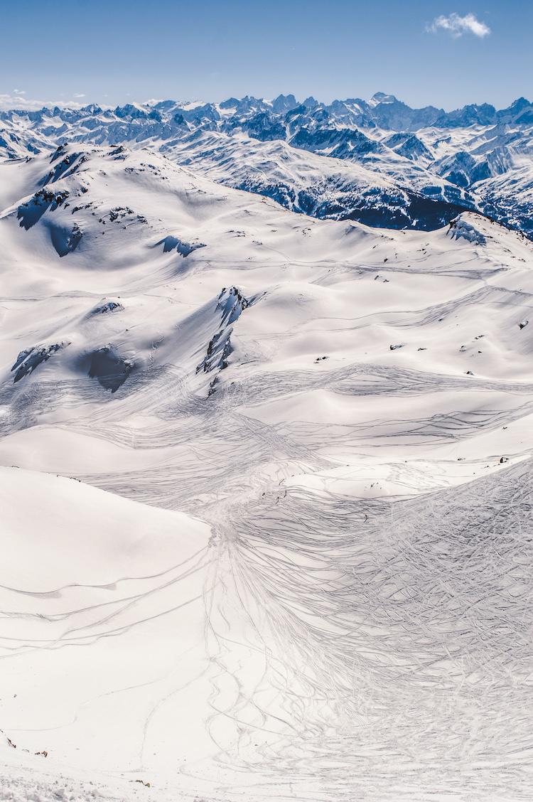 Wintersporten les menuires ervaring skien