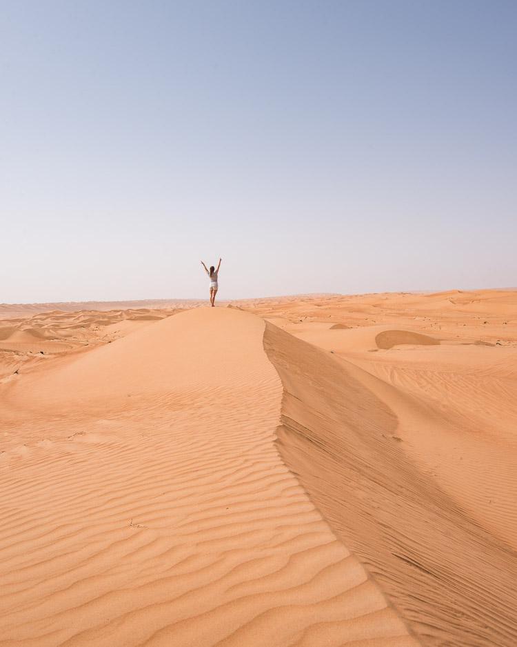 Woestijn Oman