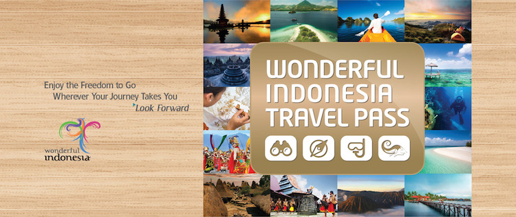 Wonderful Indonesia Travel pass Garuda