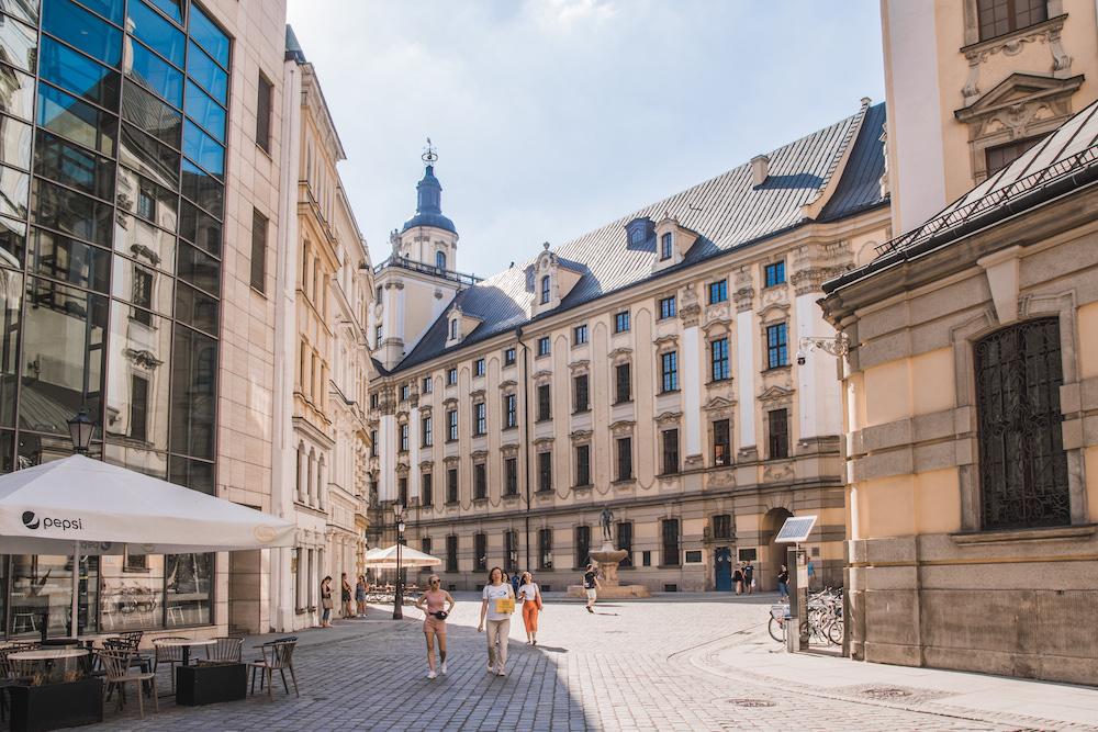 Wroclaw in Polen neder-silezie
