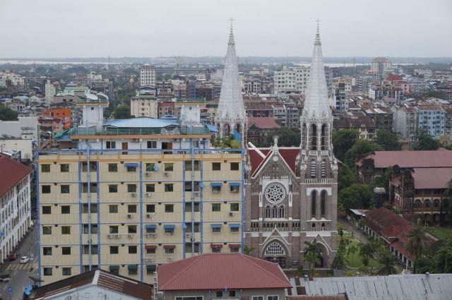 Yangon uitzicht