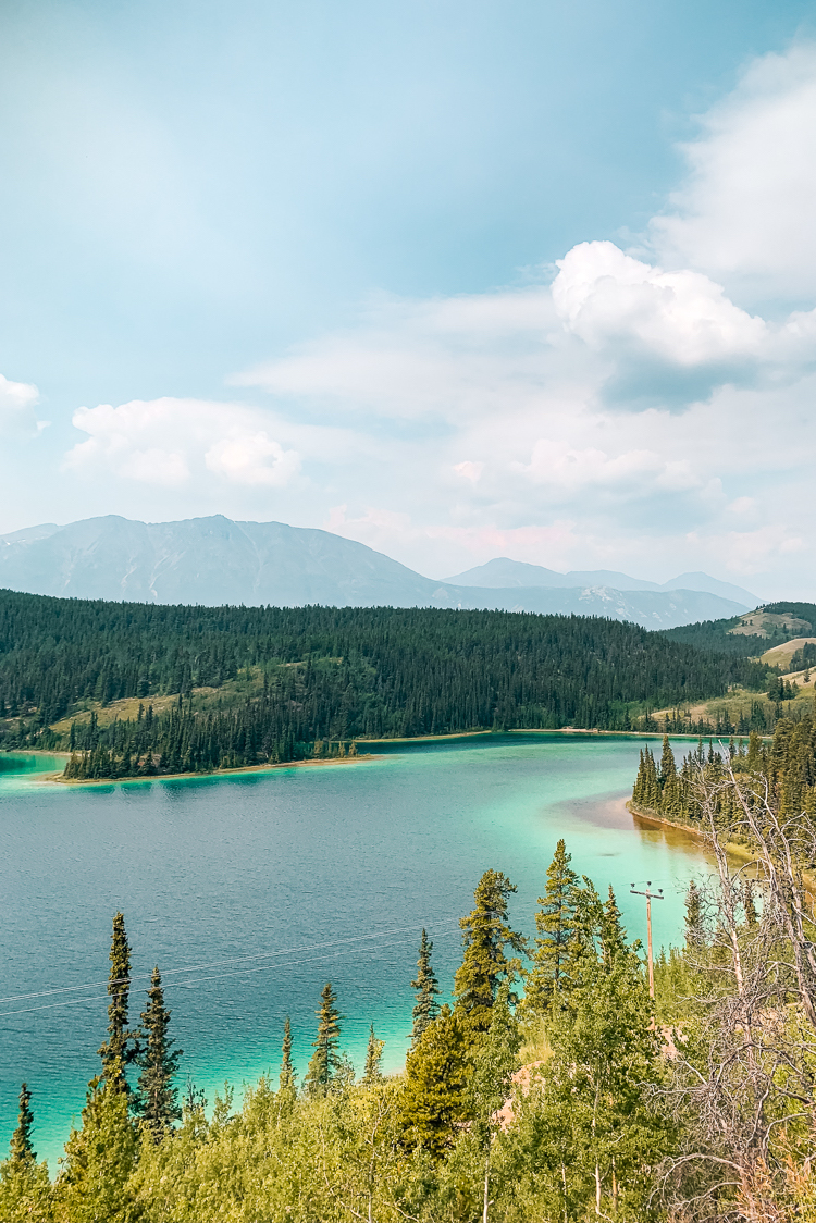 Yukon Canada Emerald Lake Carcross