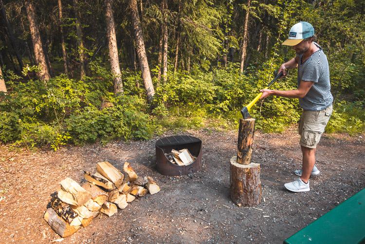 Yukon Canada rondreis kamperen camping