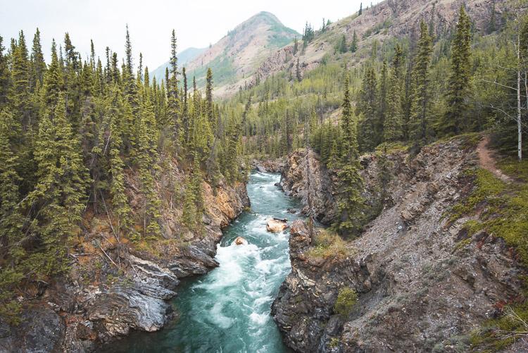 camper rondreis Yukon Canada