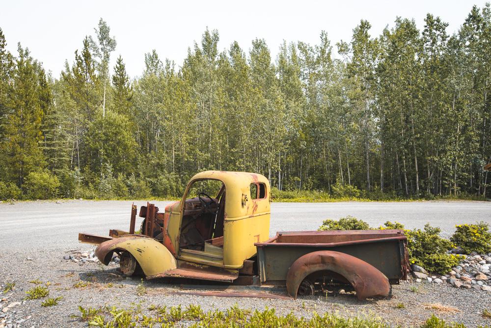 Yukon South Canol Road oldtimers