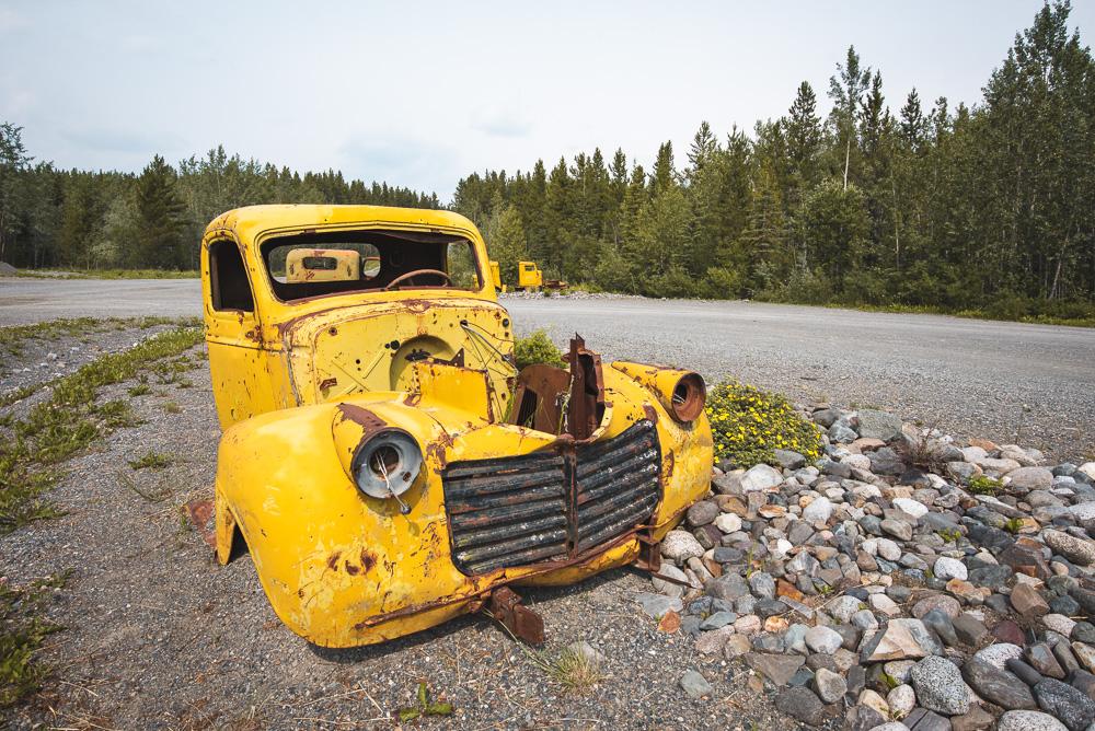 Yukon South Canol Road tip