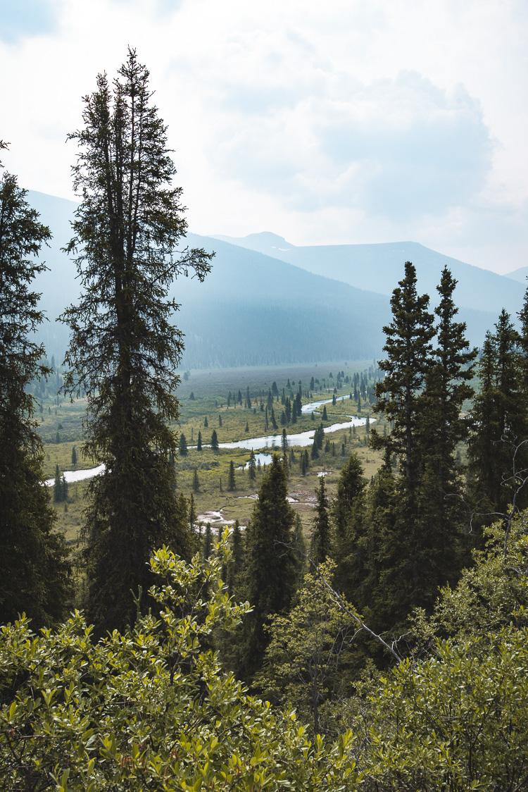 Yukon South Canol Road_