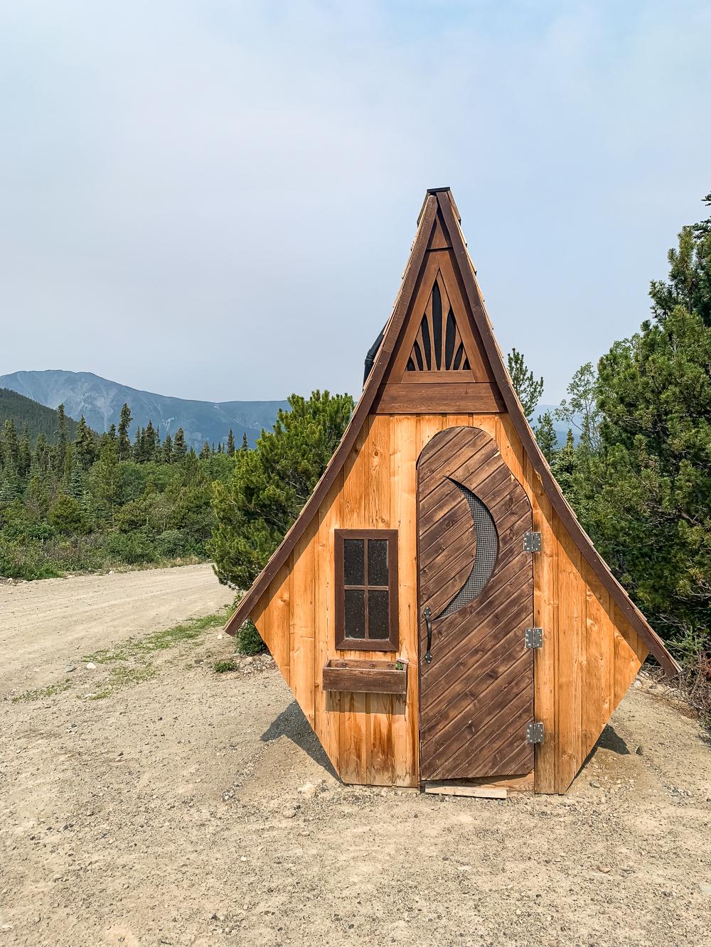 Yukon mountainbiken bergen