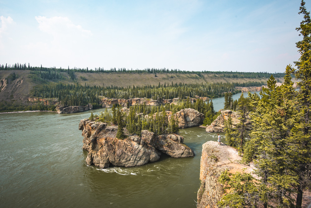 Yukon rondreis Five Finger Rapids