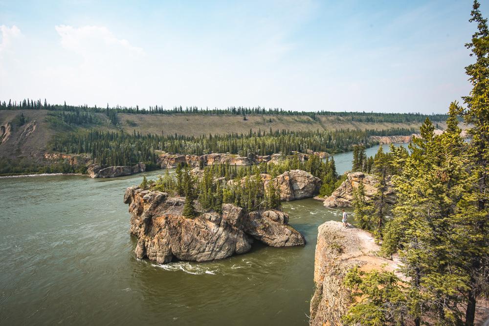 Yukon rondreis Five Finger Rapids