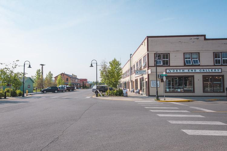 Yukon straat in whitehorse