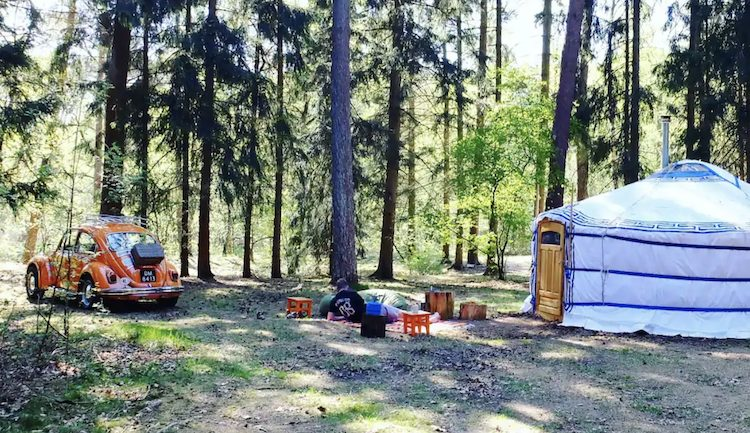 Yurt huren gelderland back to basic ger