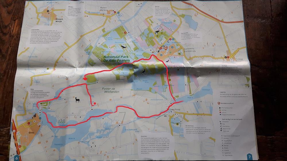 Zeilen in Friesland zeilroute door Fryslan
