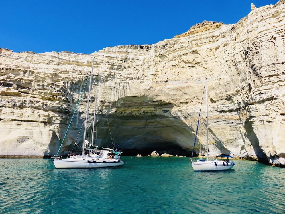 Zeiltocht Milos, eilandhoppen Cycladen